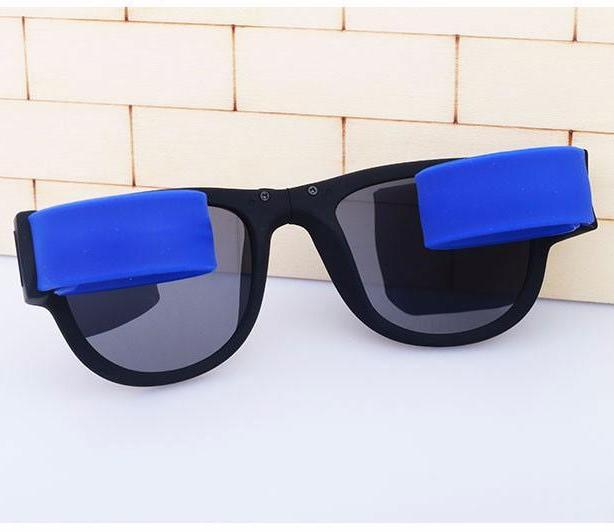 Slap Folding Polarized Sunglasses Unisex - BringWish