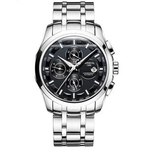 Refine Vintage Stainless Steel Band Watch