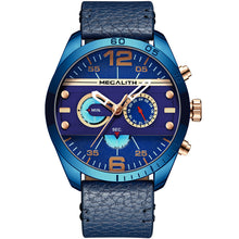 Load image into Gallery viewer, Vazen Men's Chronograph Fashion Quartz Watch - Blue