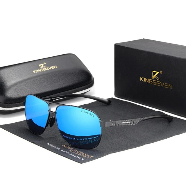 Kingseven Aluminium Polarized Sunglasses