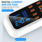 8 Ports Quick USB Charger 3.0 Led Display - BringWish