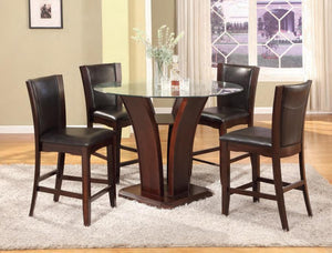 Enclave Round Counter Table w/4 Chairs