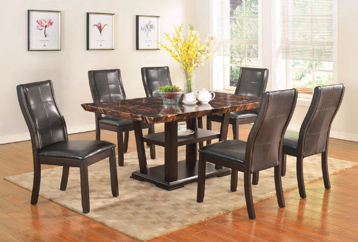 Lapidus Table & 4 Chairs