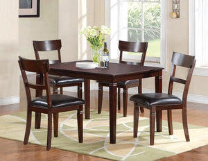 Elm St Table & 4 Chairs