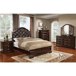 Portofino  Queen Bed w/Dresser & Mirror