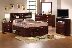 Versa Full Storage Bed w/Dresser & Mirror