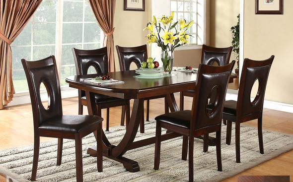 Oracle Table & 6 Chairs