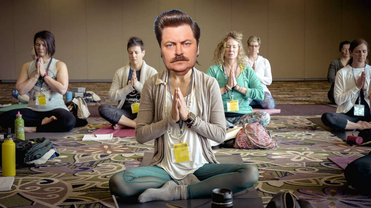 I am the Ron Swanson of the Yoga Retreat | A Map to Anywhere