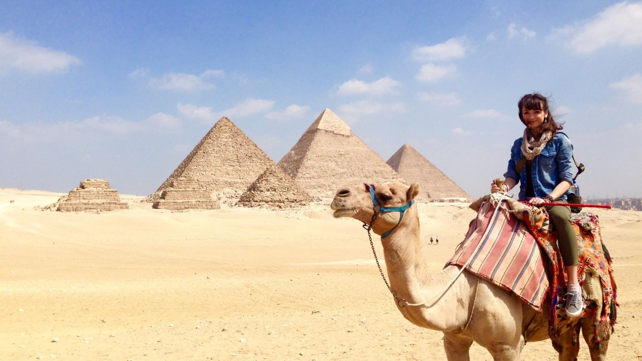 Traveling Egypt as a Girl Alone | A Map to Anywhere