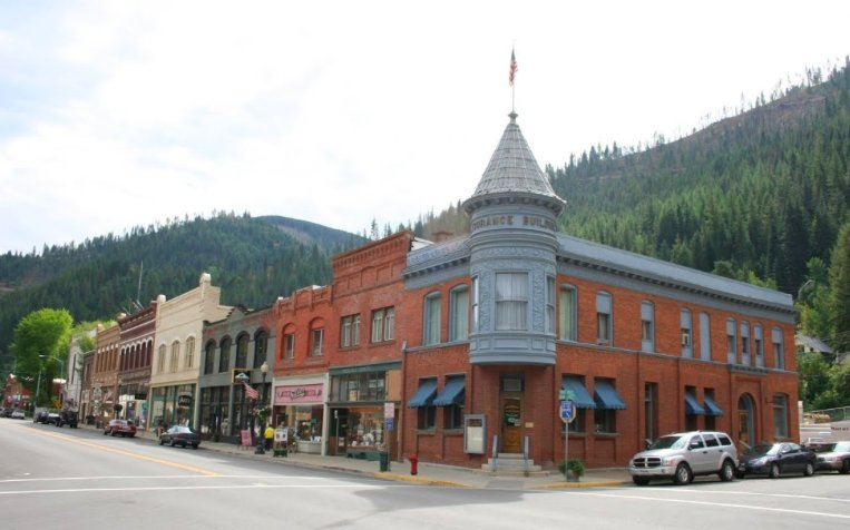 Wallace, Idaho - The Center of the Universe | A Map to Anywhere