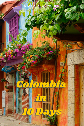 ten day colombia itinerary