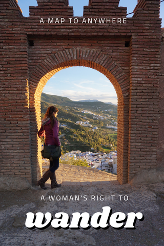 A woman's right to wander
