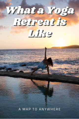 What is a yoga retreat like?