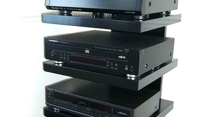 Neutral Wall Mounted Dvd Player