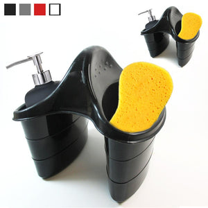 2 x Double Sink Caddy Saddle Style Kitchen Organizer Storage Sponge Holder Rack