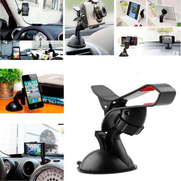 2018 Car Phone Holder for Iphone X 6s 7 8 for Sumsung Air Car Holder Ratotable Soporte Movil Mobile Car Phone Stand #XTN