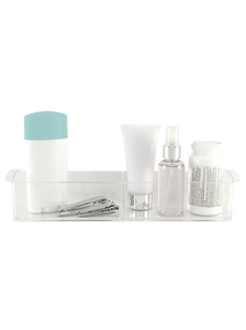 Precision Beauty 2 Compartment Bathroom Organizer