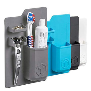 Tooletries - The Harvey (Blue), Silicone Waterproof Toothbrush Holder