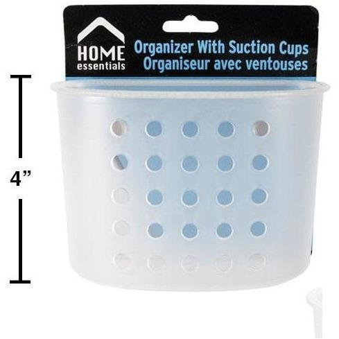 Bathroom Organizer with Suction Cups