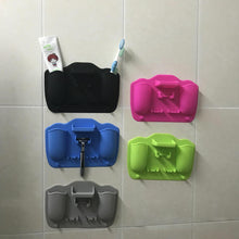 Load image into Gallery viewer, 【Hot Sale!】Silicone wall sticker organizer、Makeup mirror for Home、Travel