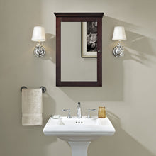 Load image into Gallery viewer, Get crosley furniture lydia mirrored bathroom wall cabinet espresso