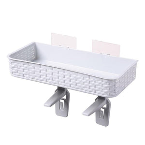 Home Bathroom Storage Rack Multifunction Strong Adhesive Rack Toiletries Shelves for Bathroom Organizer Accessories