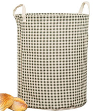 Load image into Gallery viewer, Cartoon Flamingo Barrel Super Large Bag Cotton Laundry Basket
