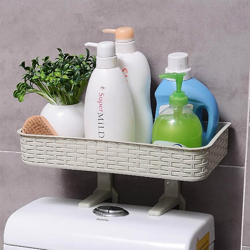 Wall-Mounted Bathroom Toiletry Organizer