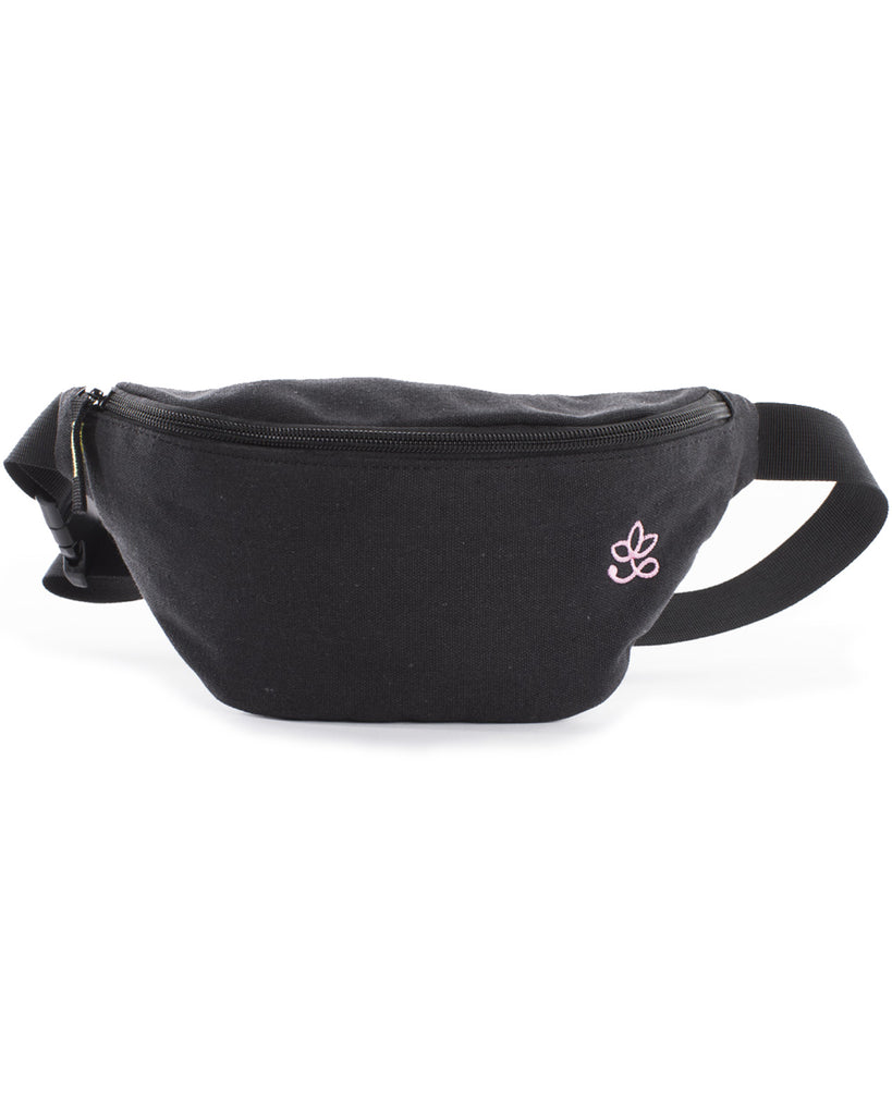 Hip Bag Black/Pink - Banano Orgánico
