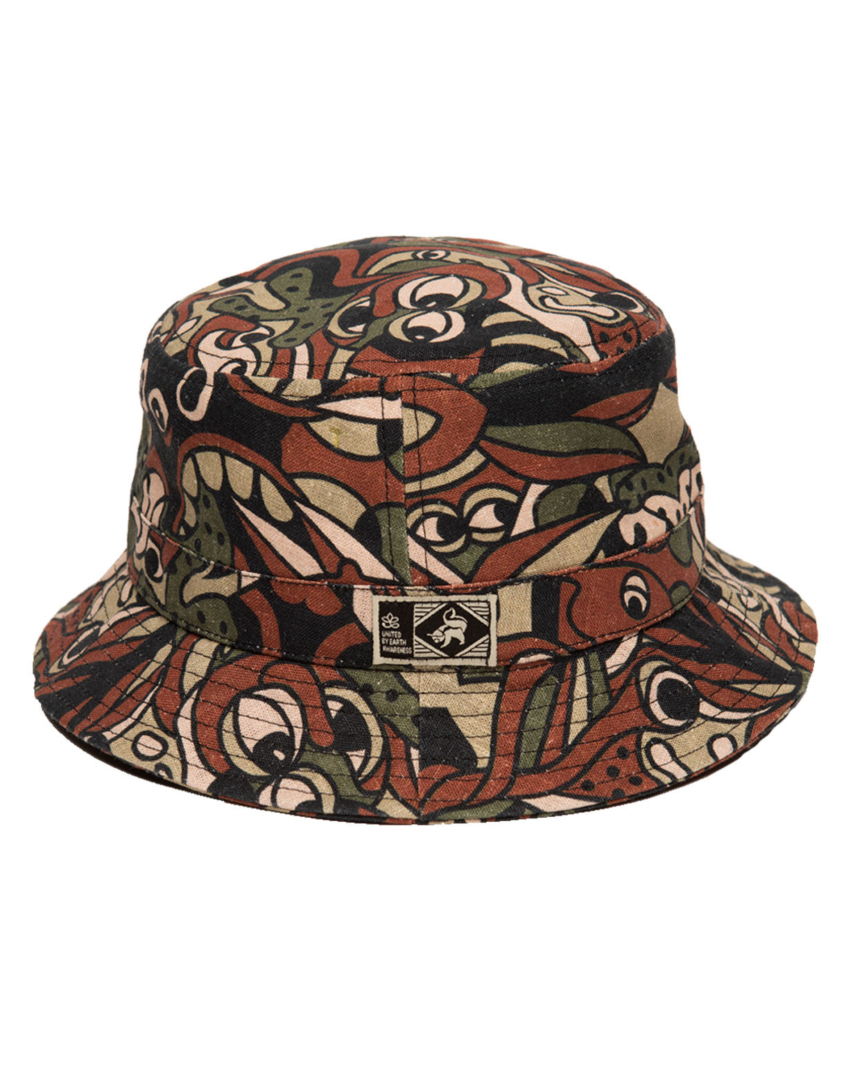 Camo Mood - Hemp Bucket