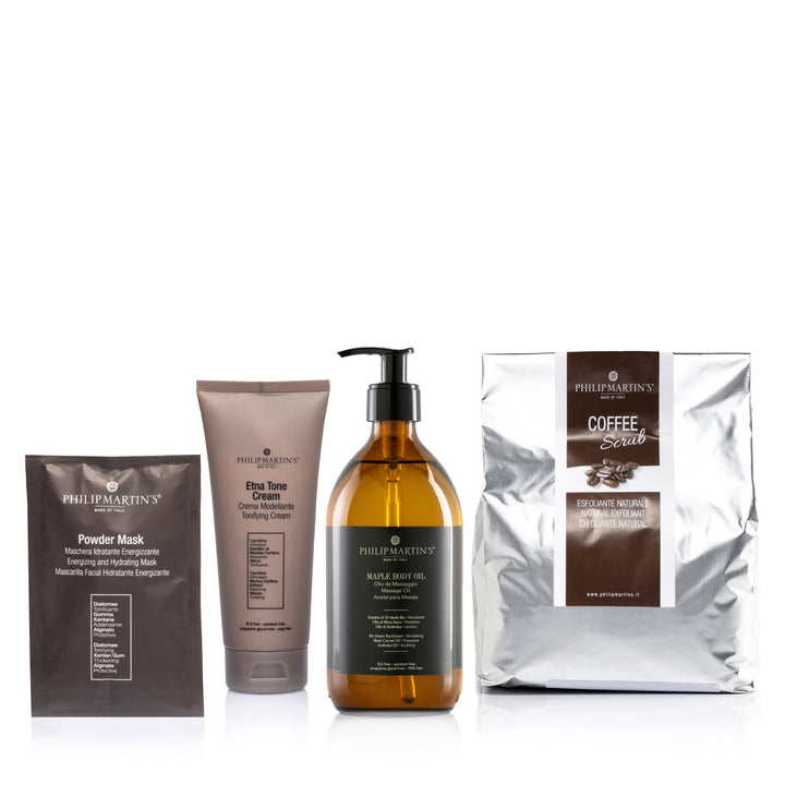 Kit Coffee Scrub - Prevenire e tonificare