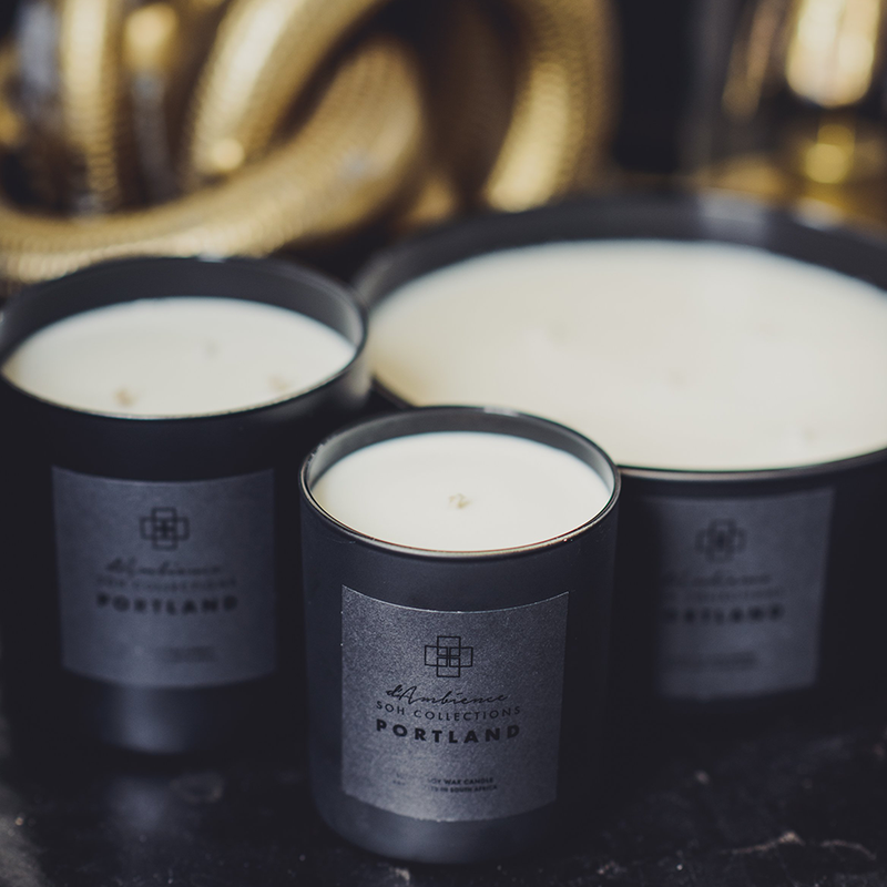 Portland | 250g Scented Candle