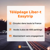 Badge liber-t Easytrip - 1 an offert