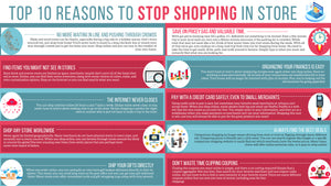 Top 10 Reasons To Stop Shopping In Store