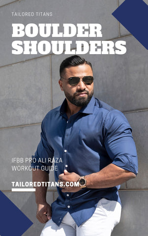 Boulder Shoulders - IFBB Pro Ali Raza eBook Cover