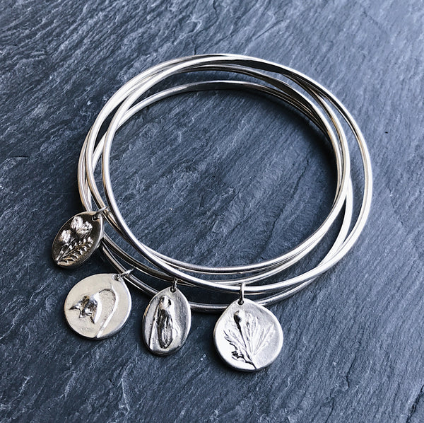 FOUR CHARM - Bangle Stack - Flower & Fable