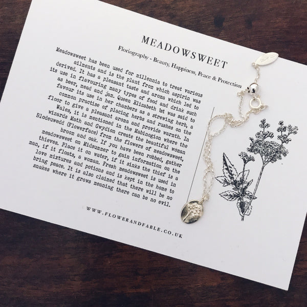 Meadowsweet Charm Sterling Silver