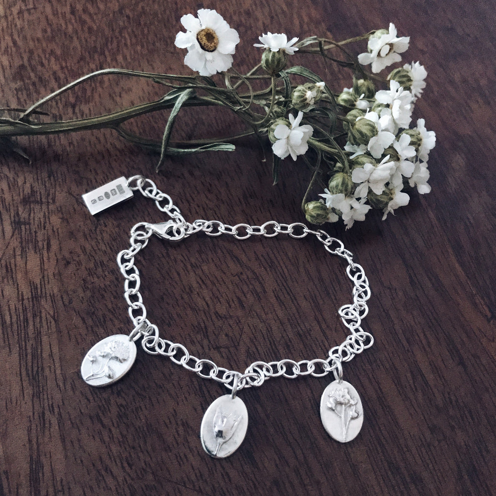 3 Charm Bracelet - For Motherhood