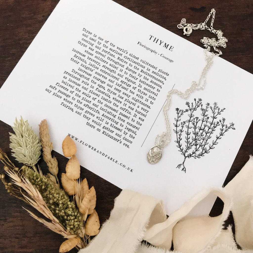 Thyme Charm Necklace