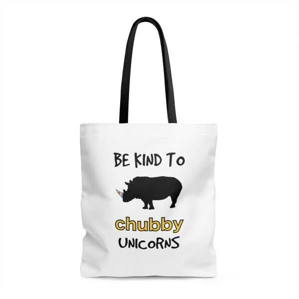 Chubby Unicorn Tote Bag (2 sides)
