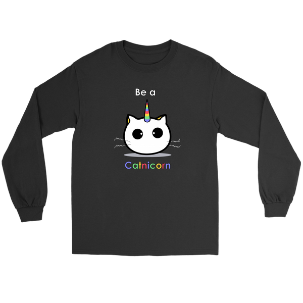Be a Catnicorn Long Sleeves/Hoodie (2 Styles)