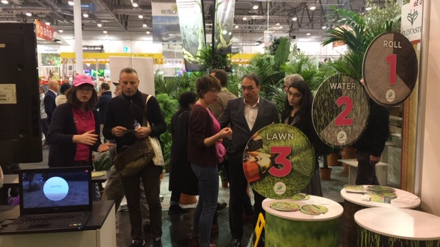 Roll n Grow booth on IPM Essen
