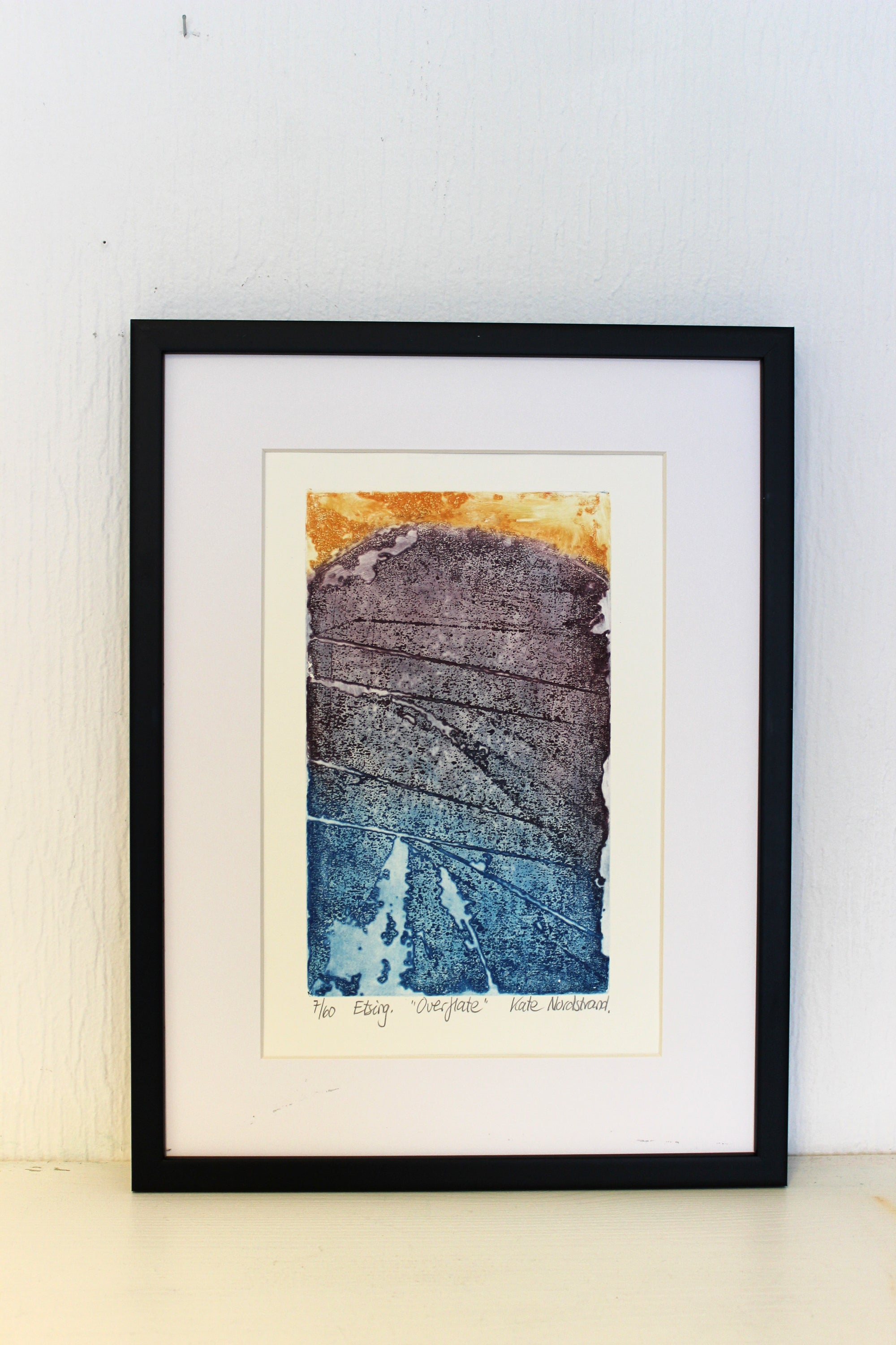 "ETCHING  ""Overflate"""