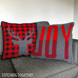 Christmas Crochet Pillow Collection