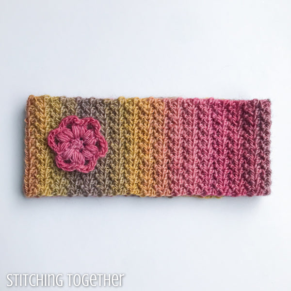 Chloe Ear Warmer Headband Crochet Pattern