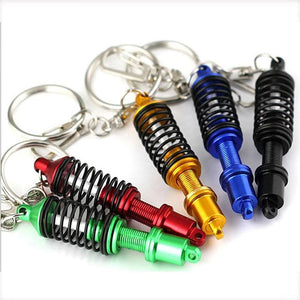 Car Keychain Shock Absorber