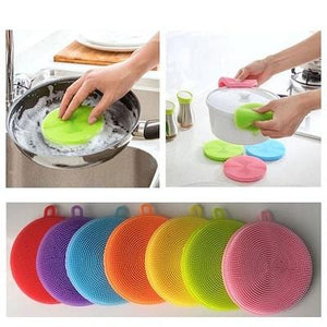 Silicone Smart Sponge Cleaning Dish