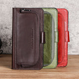 Huawei P20 leather mobile phone case Multi-function zipper card coin purse mobile phone protection leather case anti-fall