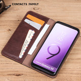 Multifunctional detachable 2-in-1 multi-card anti-drop mobile phone case Samsung S9