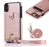 Fashion Slimline Leather Wallet Case for Samsung